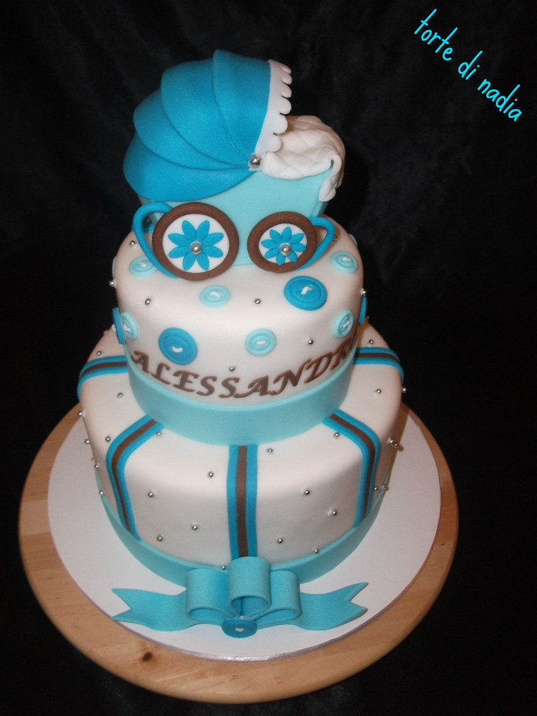 Belly Cake For Boy Baby Shower