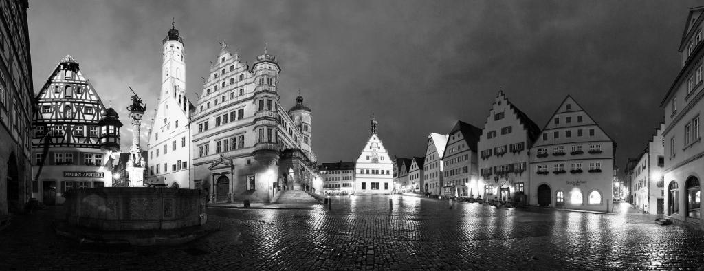 Rothenburg ob der Tauber - Marktplatz