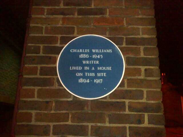 Photo of Charles Williams blue plaque