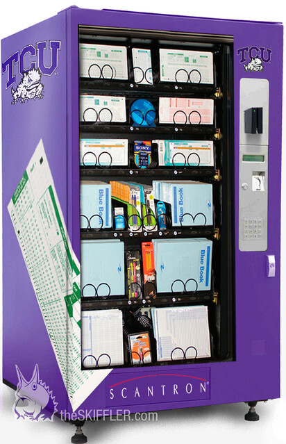 scantron vending machine