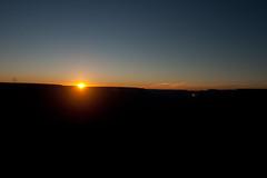 Sunset Begins