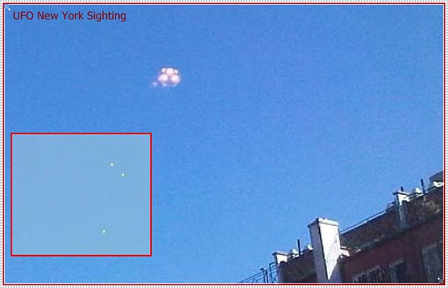 UFO New York Sighting