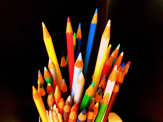 Torbellino de colores...