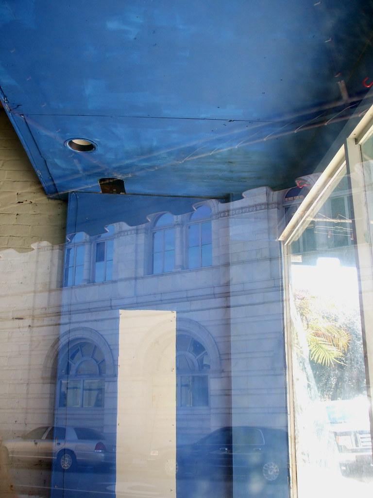 Blue Storefront