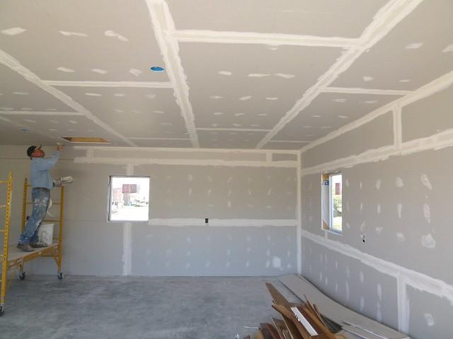 Painting Garage Ceiling Black