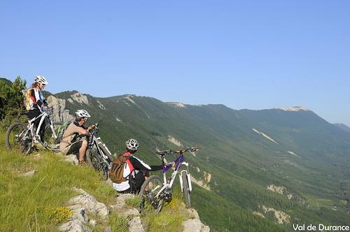 VTT en provence - Base VTT Val de Durance (04)