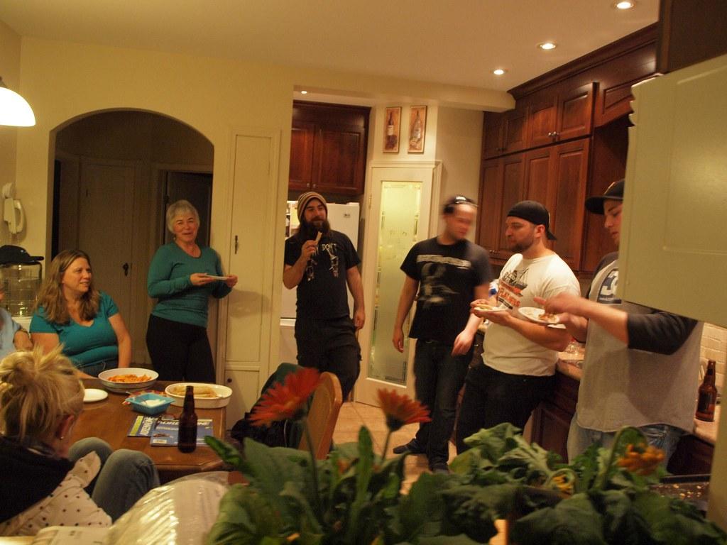 Family Kitchen Party