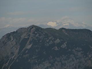 Grossglockner glacier (Austria) from Debela peč
