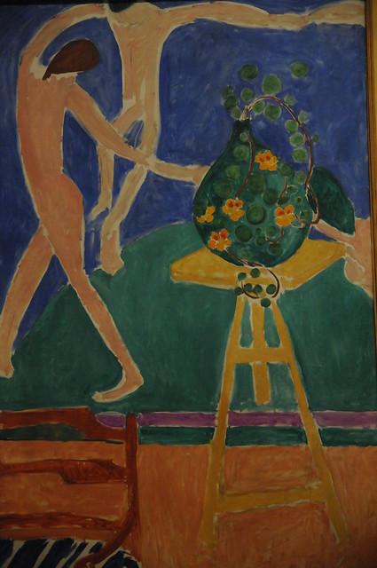"Nasturtiums with the Painting ""Dance"" Henri Matisse 1912 ..."