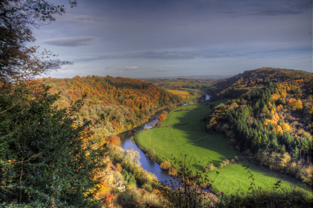 autumn landscape1-Symonds Yat
