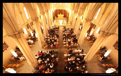 PHOTOGRAPHE MARIAGE : Inside the Church