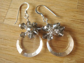 ♥ Crystal Bling ♥ Sterling Earrings ♥