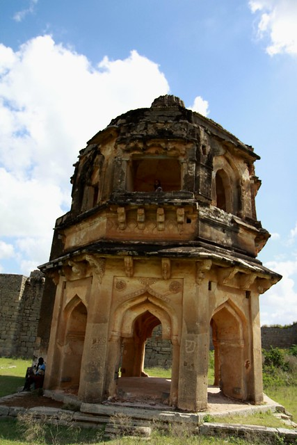 royal center hampi Mohammadan Watch Tower