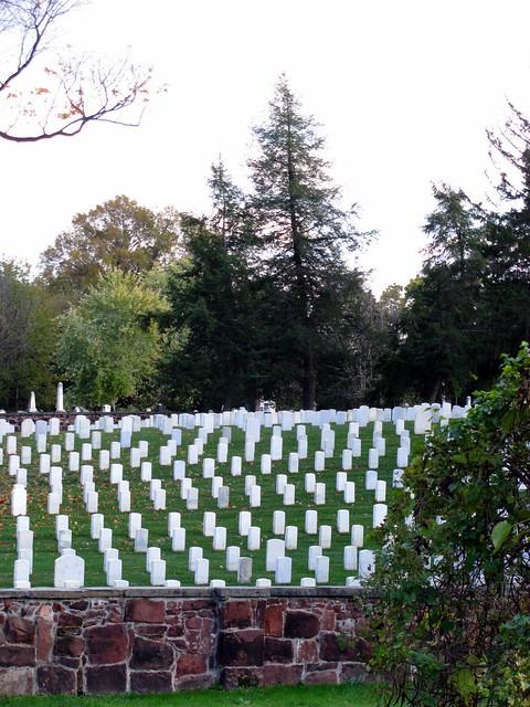 Header of Alexandria National Cemetery