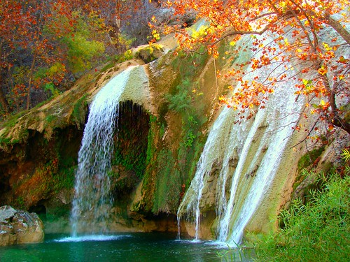 Turner Falls in the Autumn