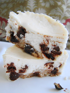 Chocolate Chip Cookie Cheezecake Bites