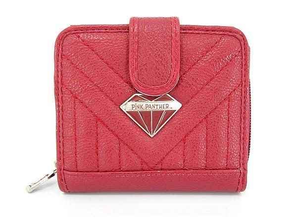 5b72d602f ... Carteira Pantera Cor de Rosa Coleção Diamond P0B221 Vermelha | by SP  Bolsas Femininas e Acessórios