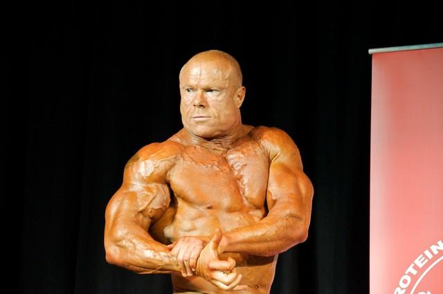 Bodybuilding Cop