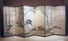 Cranes, Pines, and Bamboo