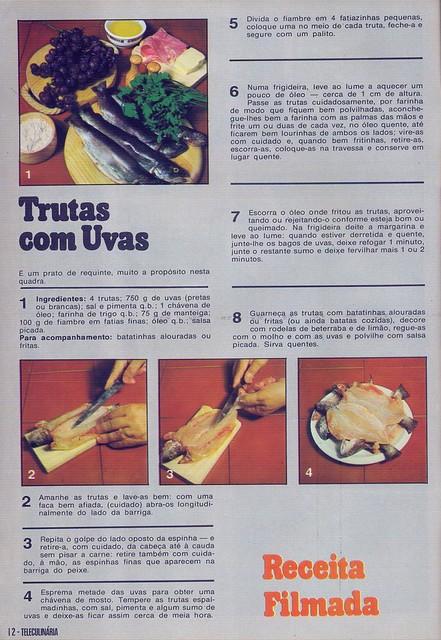Tele Culinária e Doçaria, Especial Outono, Setembro 1980 - 10