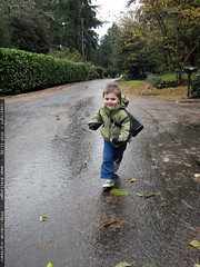 walking to preschool in 33 degree weather   PB220007…