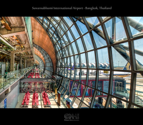 Suvarnabhumi International Airport - Bangkok, Thailand (HDR)