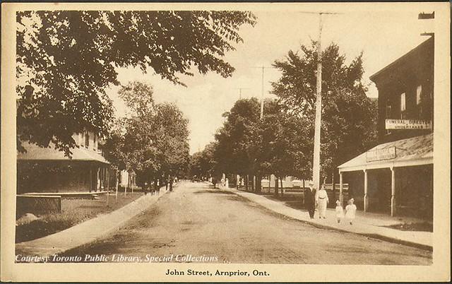 Arnprior (ON) Canada  city photos : John Street, Arnprior, Ontario, Canada 1910 | Flickr Photo Sharing ...