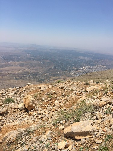 Israel|Syria border - view from peak of Mt. Hermon
