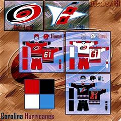 Carolina Hurricanes Concept 3
