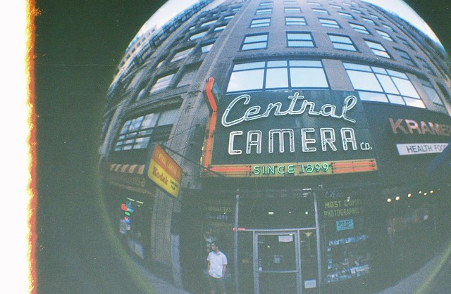 My First Fisheye Ever: Central Camera
