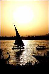 atardecer en Luxor