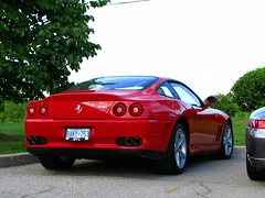 automobile, automotive exterior, ferrari 550 maranello, wheel, vehicle, automotive design, ferrari 550, ferrari f355, ferrari 575m maranello, bumper, land vehicle, luxury vehicle, supercar, sports car,