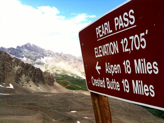 Pearl Pass, Colorado, USA, by TRAILSOURCE.COM