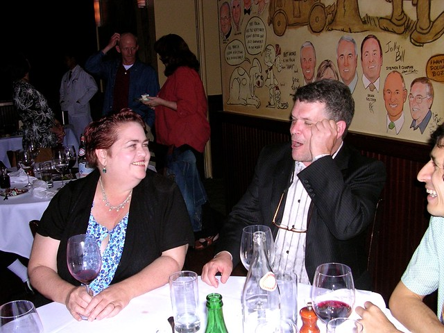 Peter Bagge and wife Joanne