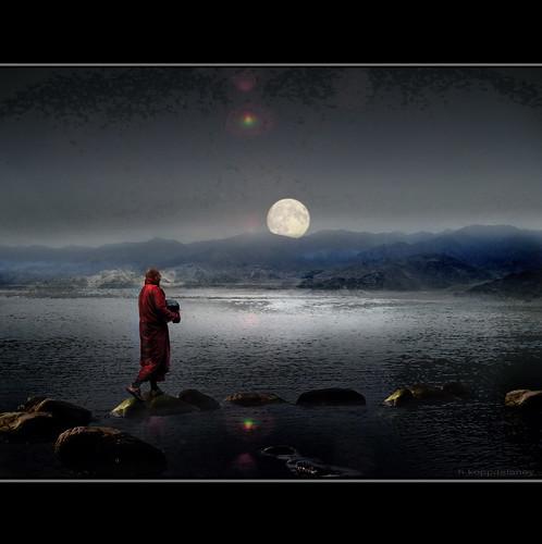 Buddha Moon - Buddha Stones