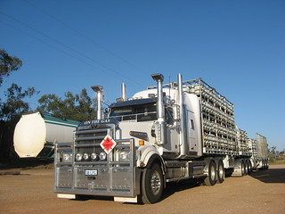 Western Star gas bottle B Double