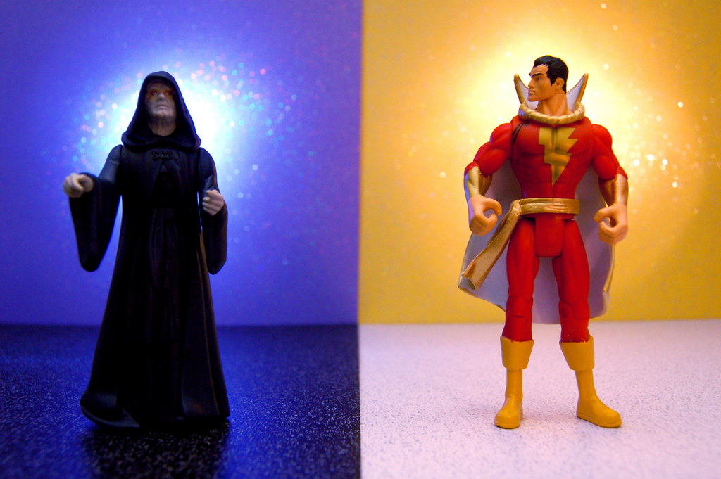 Emperor Palpatine vs. Captain Marvel (245/365)