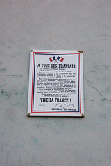 À tous les Français - Photo of Morschwiller