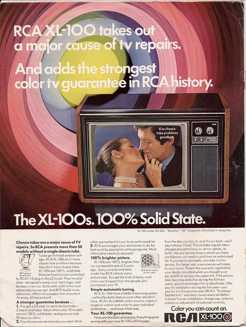 RCA TV Advert, 1972