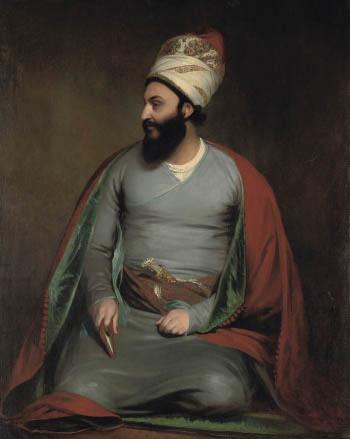 Beechey, William (1753-1839) - 1809-10 Mirza Abu'l Hassan Khan