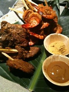 Shrimp and Adobo Pork