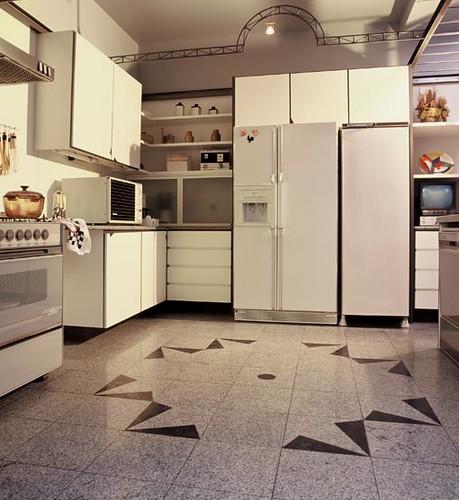 7 id ias para o piso de granito na cozinha vsb piso de for Ver pisos decorados