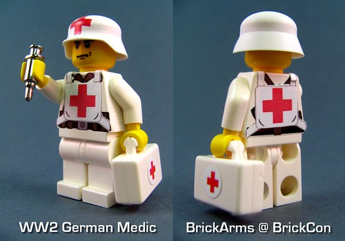 BrickArms WW2 German Medic TEST