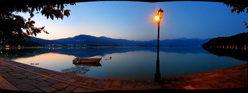 sunset evening europa greece macedonia stitched hdr orestias kastoria hellenicrepublic