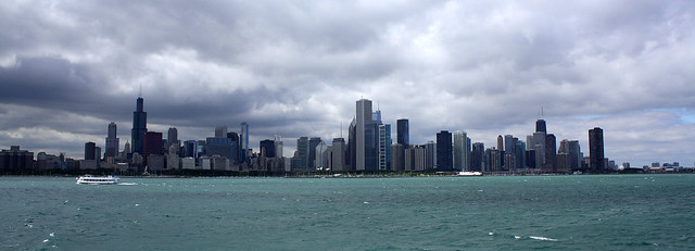 Chicago.......Cloudy day off the Mystic Blue.....