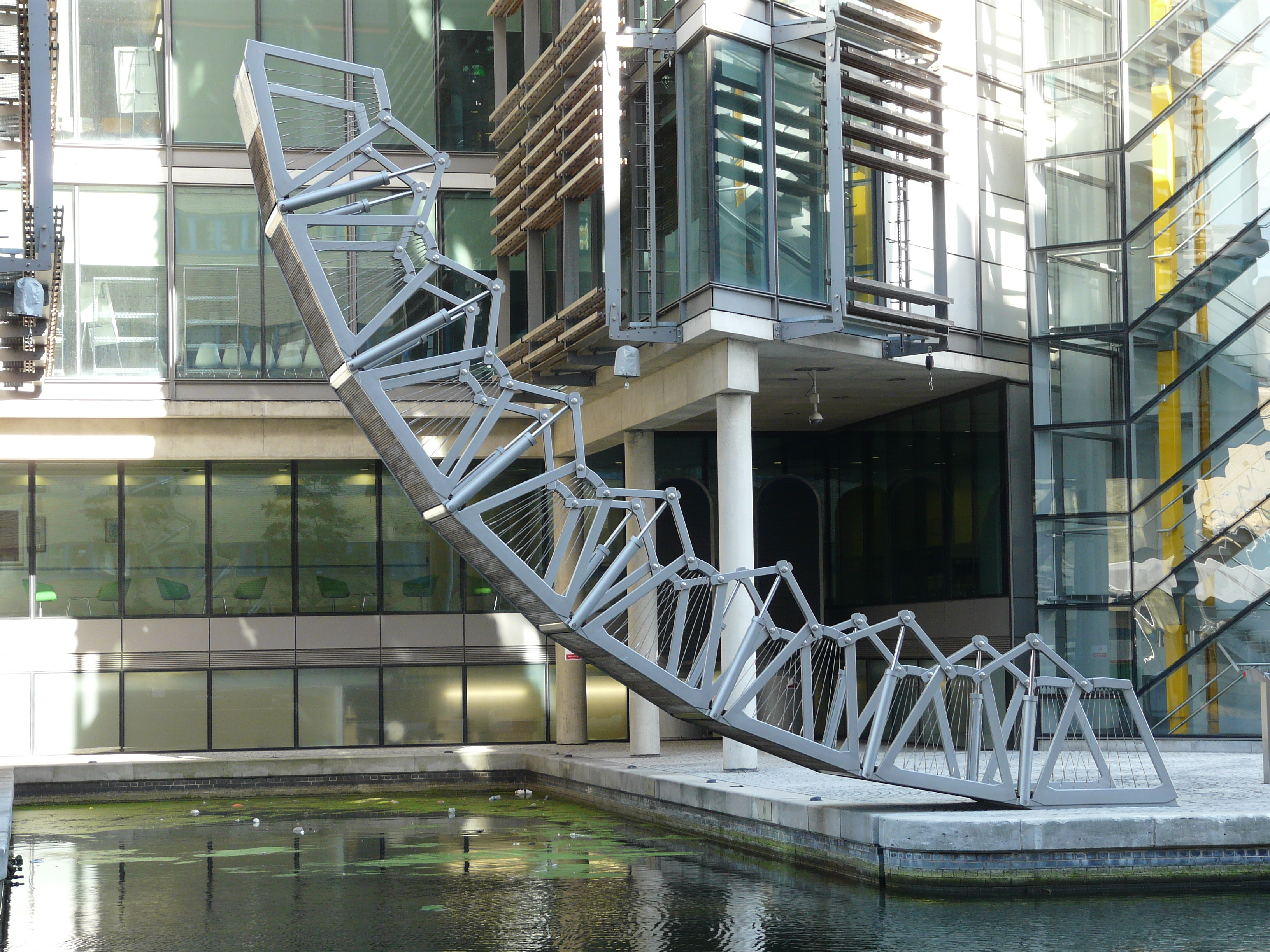 The Rolling Bridge By Thomas Heatherwick Paddington