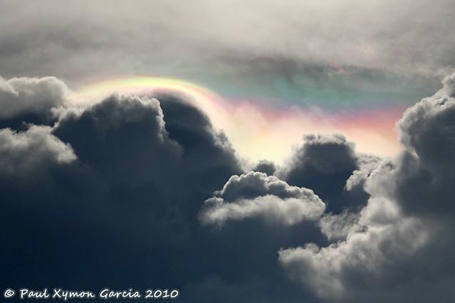 Cloudy Rainbow over Puerto Princesa