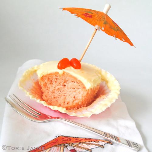 Gluten free Mai Tai Cupcake