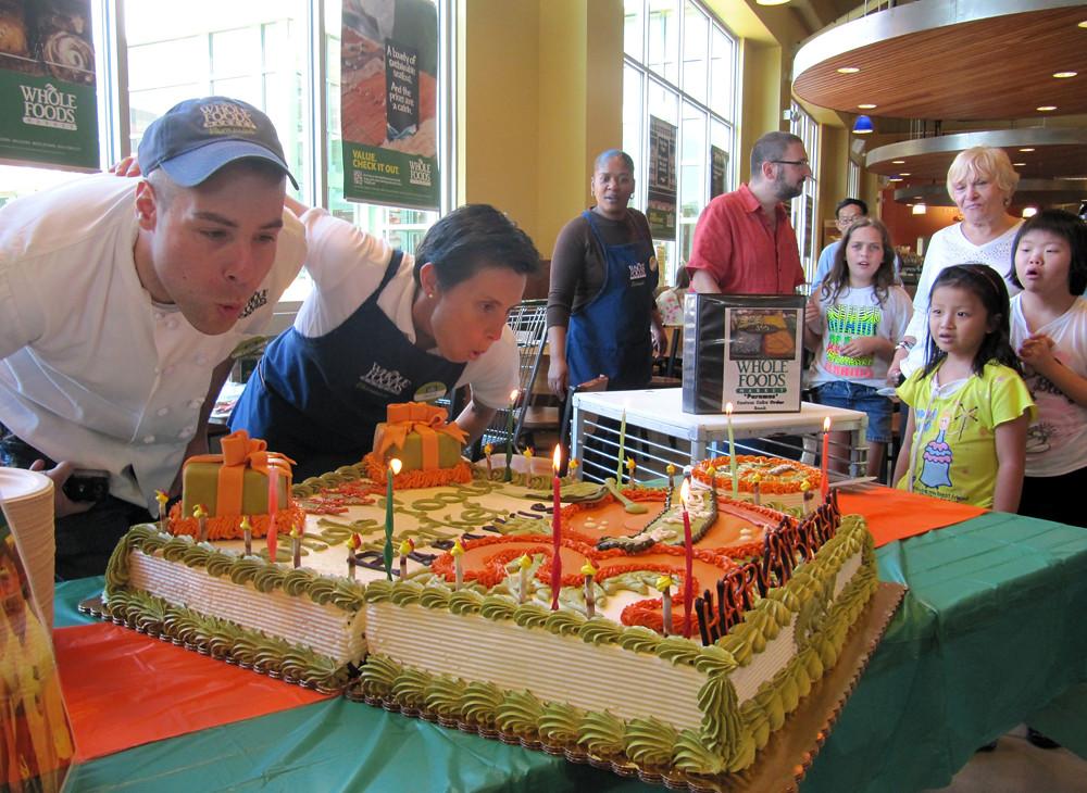 Whole Foods Market Paramus 30th Birthday Cake By Tony Tone Tone