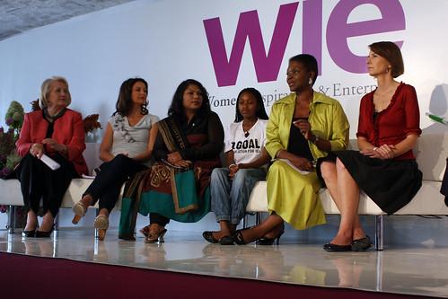 Ambassador Melanne Verveer, Ashley Judd, Aparajita Gogoi, Nthabiseng Tshabalala, Baroness Amos, Maria S. Eitel